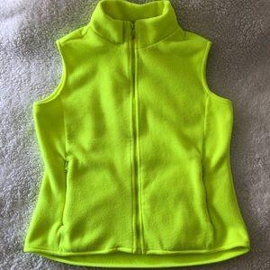 Gap Safety Green Fleece Vest Woman XS (Girl XXL)